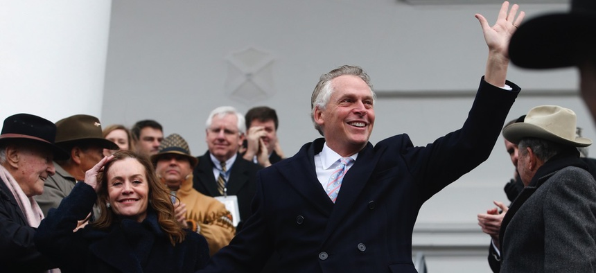 Former Virginia Gov. Terry McAuliffe