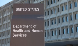 The U.S. Department of Health and Human Services headquarters in Washington, D.C.
