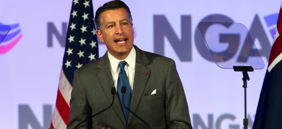 Nevada Gov. Brian Sandoval, chair of the National Governors Association.