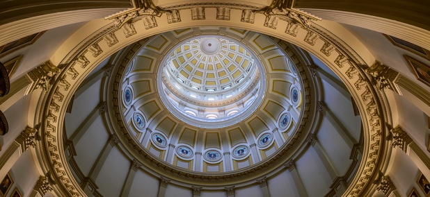 The Rotunda of the Colorado State Capitol