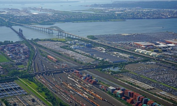 The Port of Newark in New Jersey