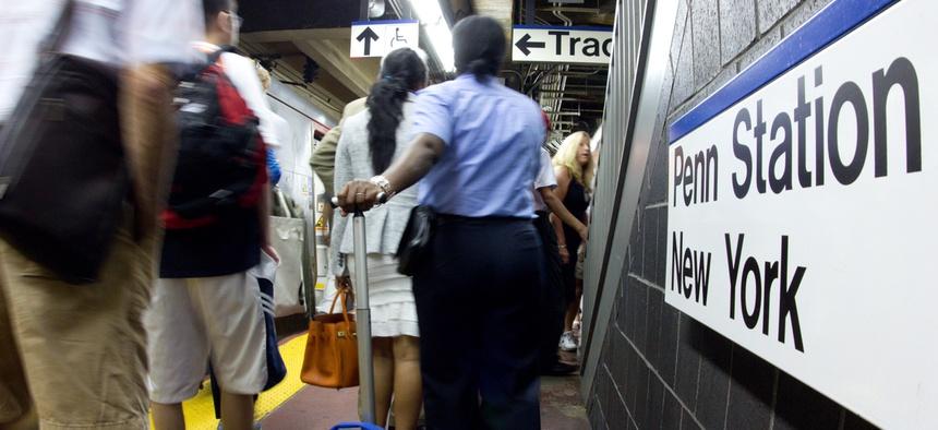 Penn Station in New York City