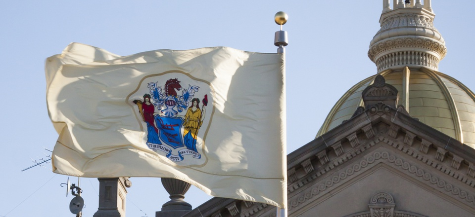 The New Jersey State House in Trenton.