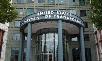 The U.S. Department of Transportation headquarters building in Washington, D.C.