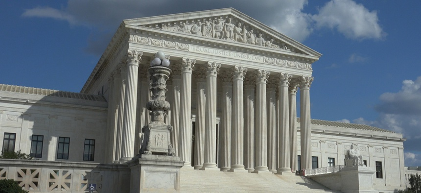 The U.S. Supreme Court in Washington, D.C.