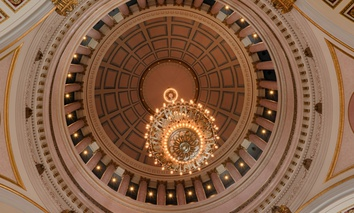 The Rotunda of the Washington State Capitol in Olympia