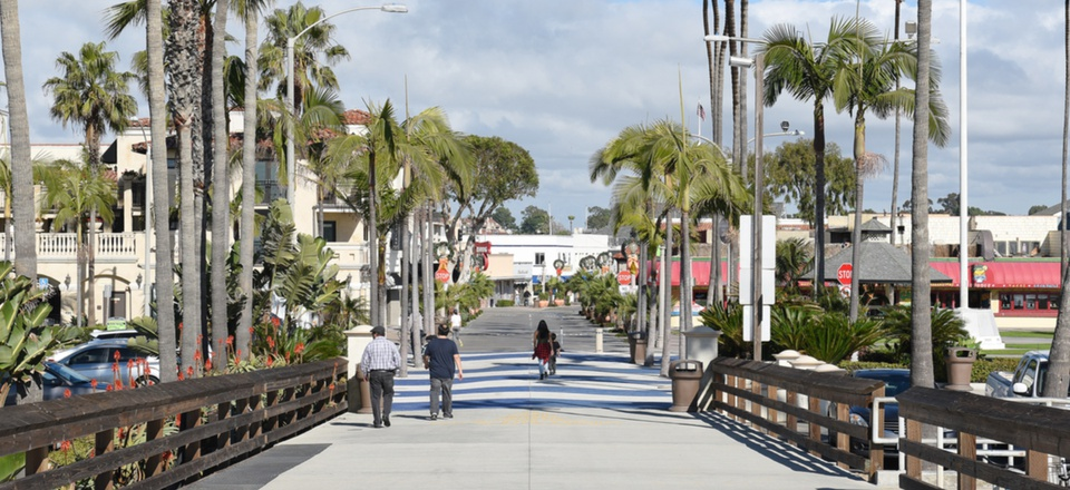 Newport Beach, California is located in Orange County.