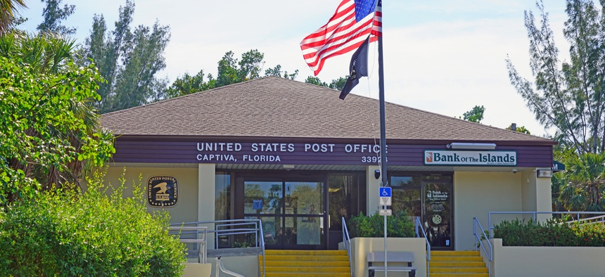 A post office in Captiva, Florida.