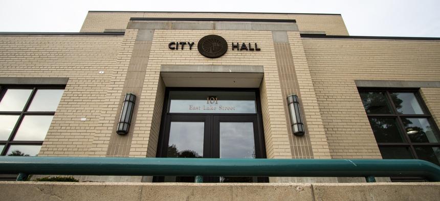 City Hall in Petoskey, Michigan