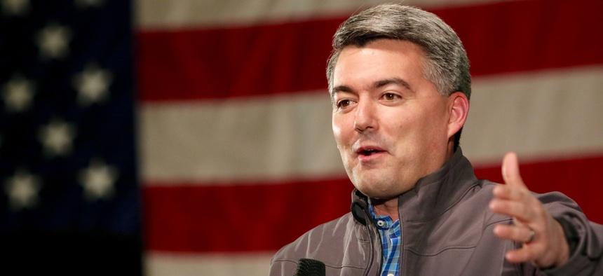U.S. Sen. Cory Gardner of Colorado