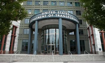 The U.S. Department of Transportation headquarters building in Washington, D.C.