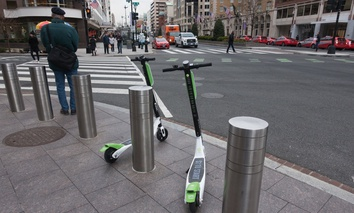 Lime Bike e-scooters in Washington, D.C.