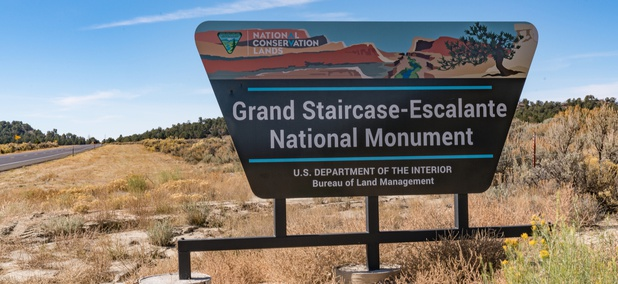 Grand Staircase-Escalante National Monument in southern Utah
