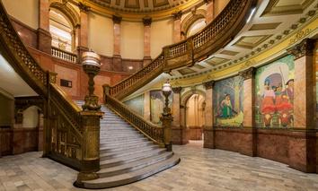 The Colorado State Capitol Rotunda