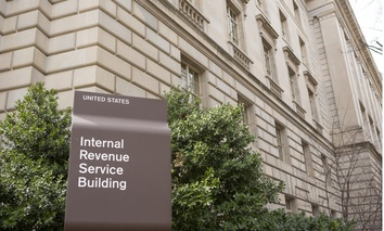 The IRS building in Washington, D.C.