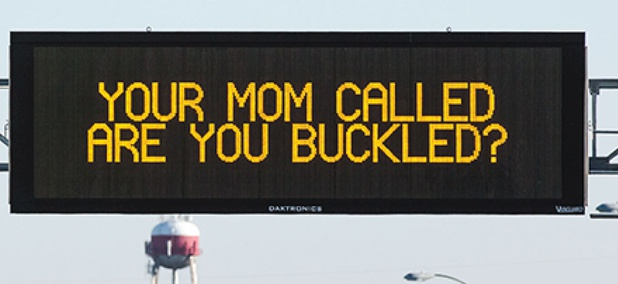A Mother's Day safety message from the Nebraska Department of Transportation