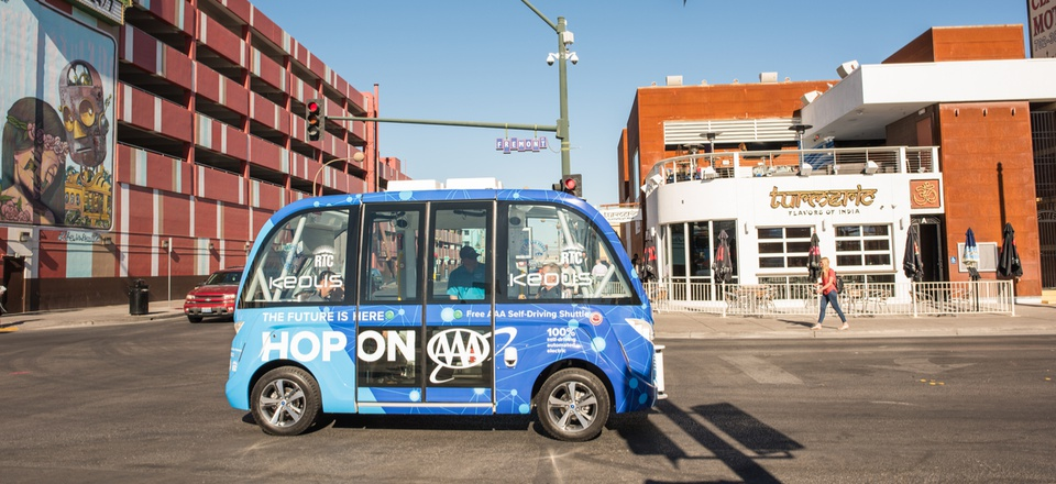 The Atlas has 80 partner cities, including Las Vegas, which used the platform to share details about its autonomous shuttle.