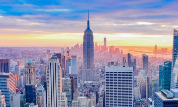New York ranked first on the list of best large cities, defined as having a population of as least 1 million people.