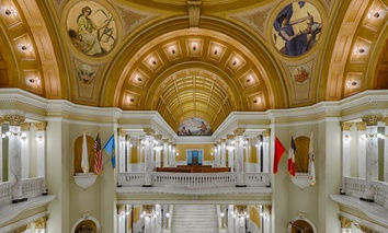 The South Dakota State Capitol in Pierre.