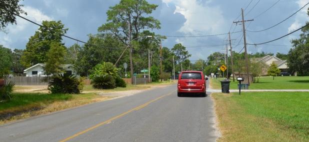 Near Vicksburg, Mississippi