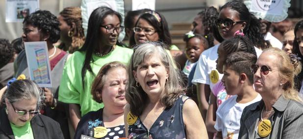 In 2014, the NYC Breastfeeding Leadership Council held a rally at City Hall followed by a Breastfeeding Subway Caravan.