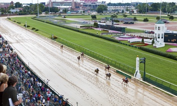 Churchill Downs in Louisville, Kentucky.