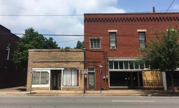 Commercial real estate on First Avenue North in Birmingham's Woodlawn neighborhood.