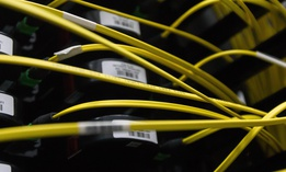 Buried fiber optic cables are at risk, as most are not designed to be underwater permanently.