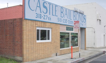 A bail bond office in 2016 in Richmond, California.