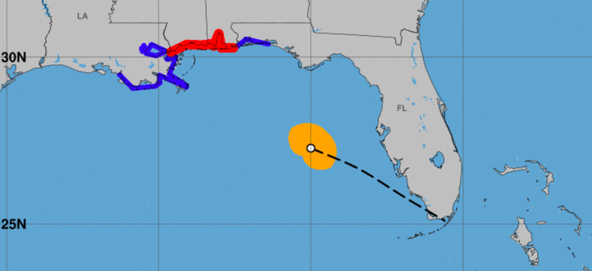 As of 2 a.m. EDT on Tuesday, hurricane warnings were posted for the Alabama and Mississippi coasts, with tropical storm warnings in effect for other parts of the Gulf Coast.