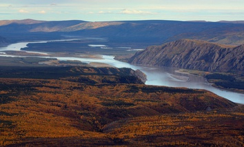 The Yukon River in Alaska. A Supreme Court case will look at whether the National Park Service or Alaska governs use of rivers in national parks in the state.