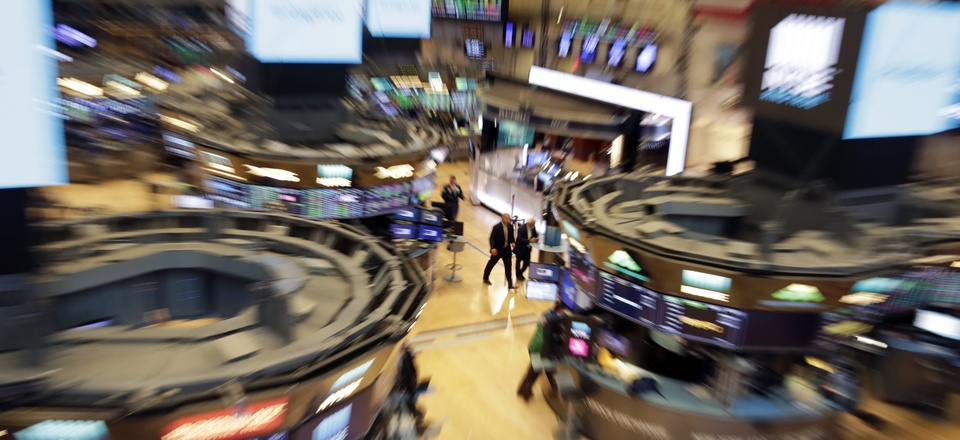 The trading floor of the New York Stock Exchange is shown in this photo, Tuesday, Aug. 21, 2018.