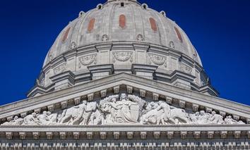 The Missouri State Capitol in Jefferson City