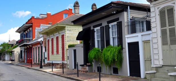 "New Orleans' ""resilient cities"" strategy is focused on climate change."