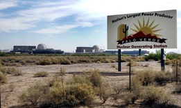 The Palo Verde Nuclear Generating Station in Wintersburg, Arizona.