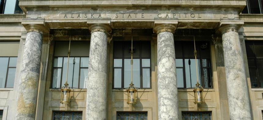 The Alaska State Capitol in Juneau