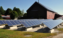 Solar panels in Hancock, Massachusetts