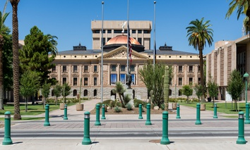 The Arizona State Capitol in Phoenix