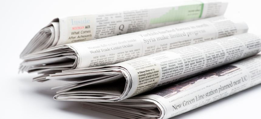 Half of the country's 3,143 have just one newspaper to cover dozens of communities, according to the report.