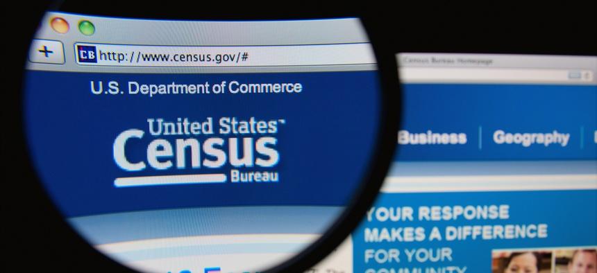 The U.S. Census Bureau website.