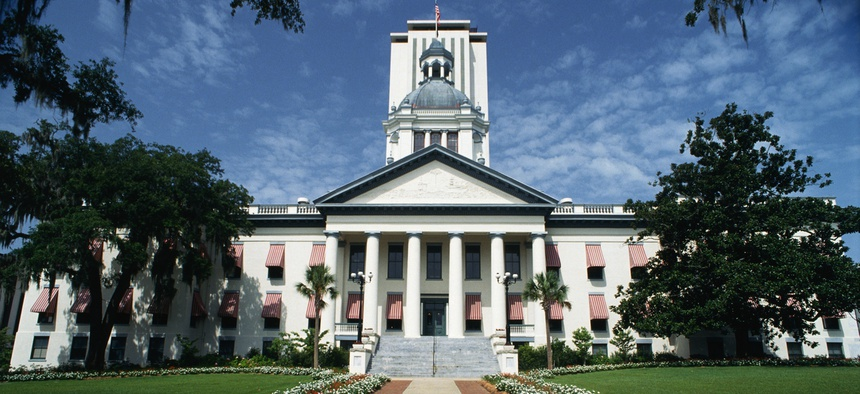 The state capitol building in Florida.