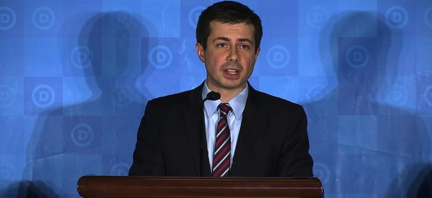 South Bend, Indiana Mayor Pete Buttigieg