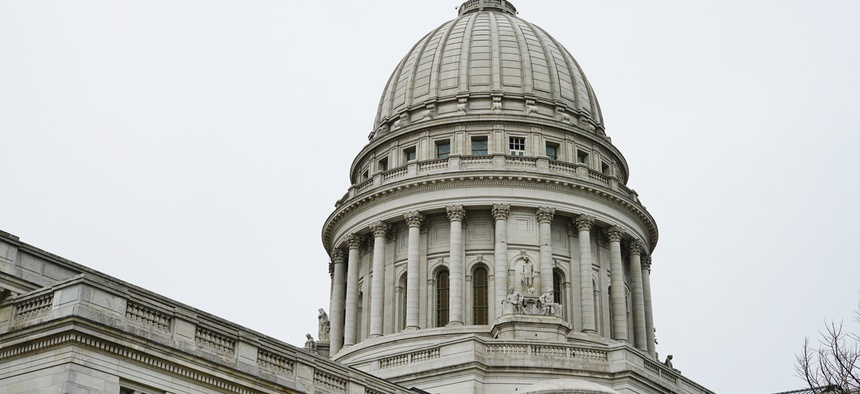 Wisconsin's state capitol building.