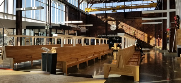 Checking Out a New Train Station That Would Make Many Cities Drool