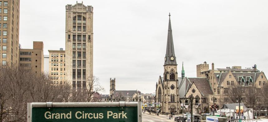 Detroit's Grand Circus Park