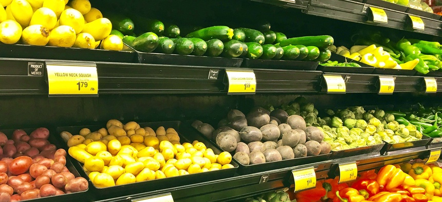 Despite the shutdown, USDA officials say the agency can continue paying for federal food assistance.