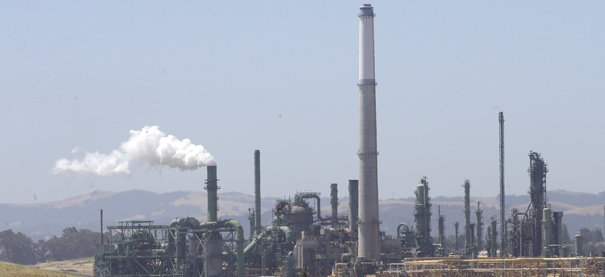 The Valero Benicia Refinery in Benicia, California.