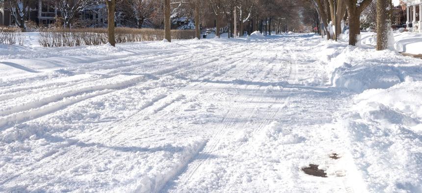 It's very frigid in places like St. Paul, Minnesota