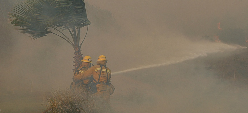 Wildfires in California last year caused $24 billion in damages, a new record.
