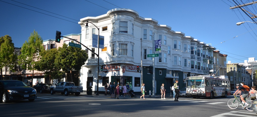 The Mission District in San Francisco